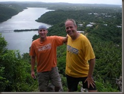 Chad and Steve on Mt. Talau