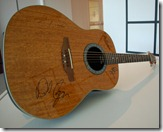 MM Guitar signed by Bon Jovi band