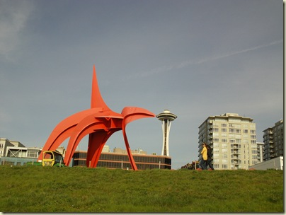 2010-03-18 Sculpture Park and Space Needle