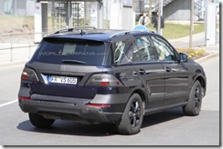 2012 Mercedes M-Class spy9