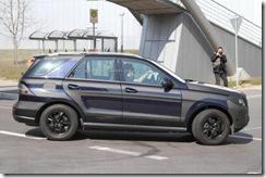 2012 Mercedes M-Class spy7