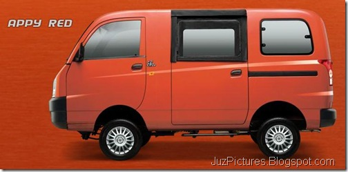 mahindra-maxximo-mini-van-appy-red-color