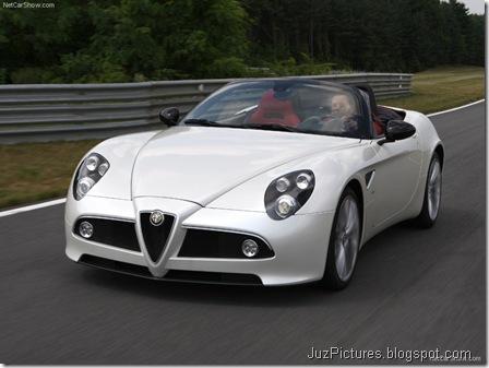 Alfa Romeo 8C Spider 8