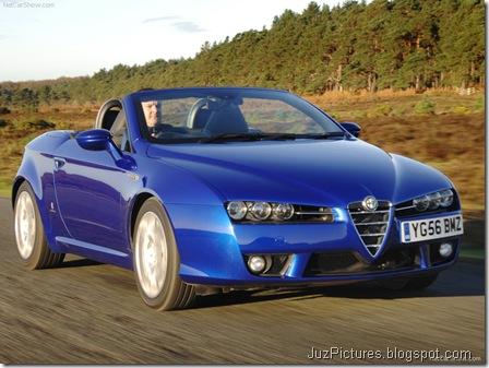 Alfa Romeo Spider UK Version8