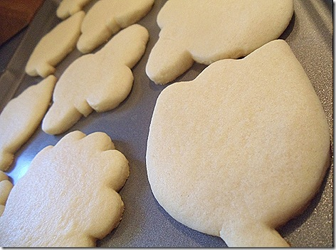 Perfect shaped sugar cookies