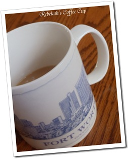 Rebekah's cup