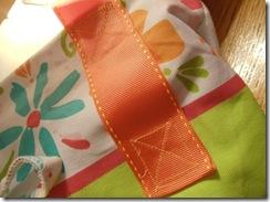5 stitch to  reinforce  handle