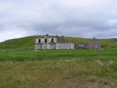 Ruin on Walls-Lerwick road