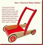 Runners walker