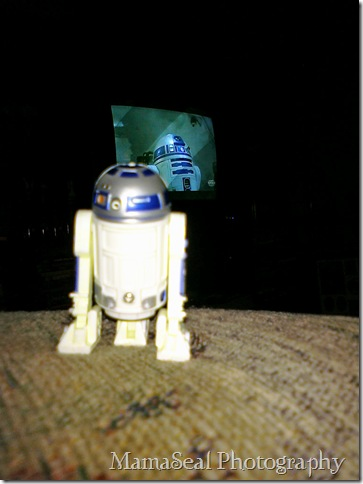 Artoo watching ESB