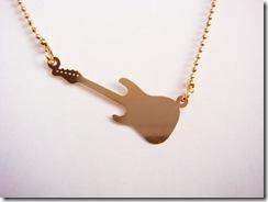 Colar Music Dourado