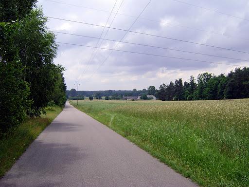 panorama z drogi na Skórkę