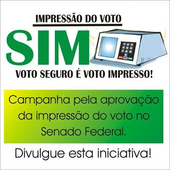 Impressão do voto 1