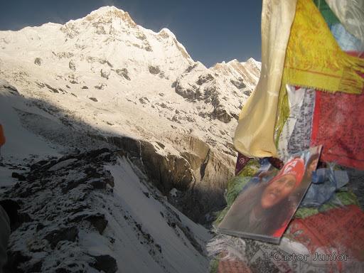 Au coeur du sanctuaire des Annapurnas