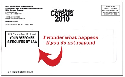 Census envelope copy