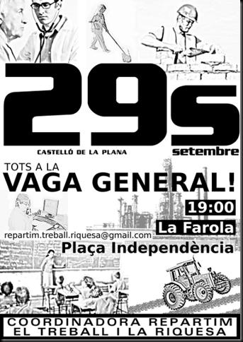 29-09-2010 Castelló vaga general CRTR