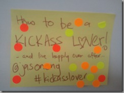 How to be a kick-ass lover!