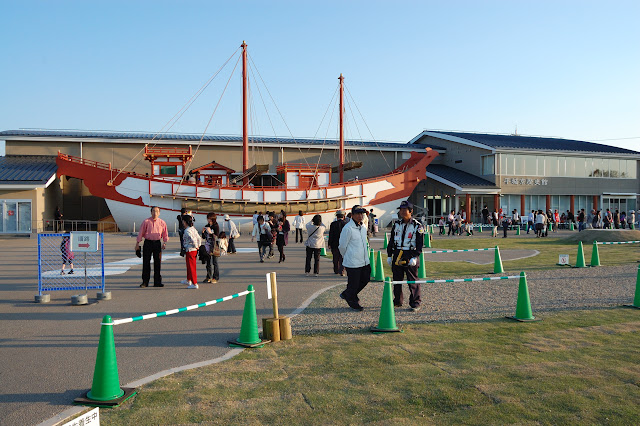 平城京歴史館(遣唐使船復元展示)の写真