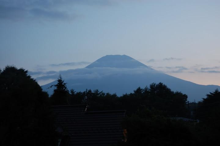 セーラー荘から見た富士山の写真