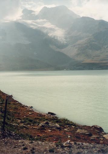 テルミナ急行から氷河の写真