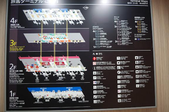 関西国際空港ターミナルの図の写真