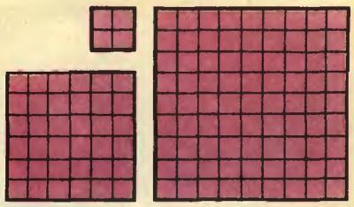Головоломка на разрезание: Разрежьте фигуры и сложите квадрат