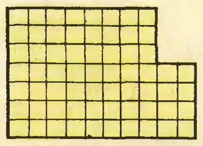 Головоломка на разрезание: разрежьте фигуру на 2 части и сложите квадрат