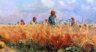Мясоедов Григорий Григорьевич - Косцы. 1887