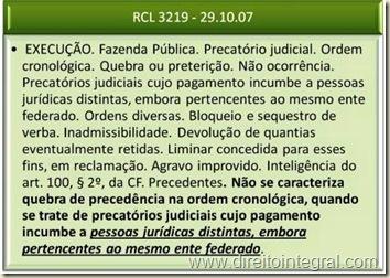 Precatórios Judiciais. Quebra de Precedência na Ordem Cronológica de Pagamento. STF.