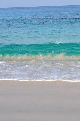 Beach color stripes. Hawaii.