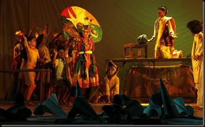 Bommanahalliyile Kinnara Yogi, a play enacted by children, Mazhavillu Kochi