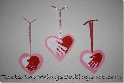 valentine heart handprint 10