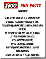 Lego Fun Facts 4