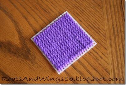 Stitched Canvas Infant Blocks 7