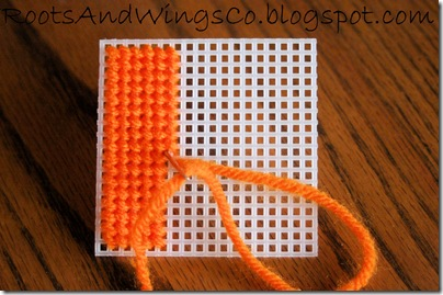 Stitched Canvas Infant Blocks 10