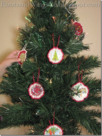 crochet ornaments 2