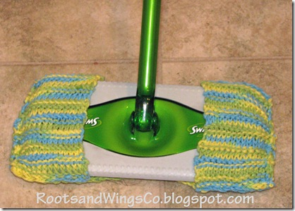 Knit Dust Mop Cover