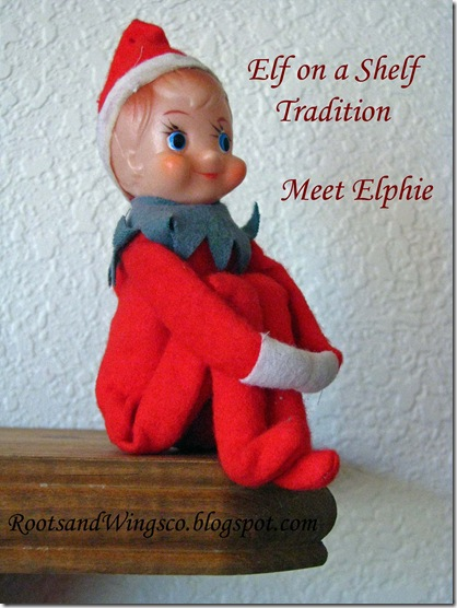 Elphie the Elf on a Shelf