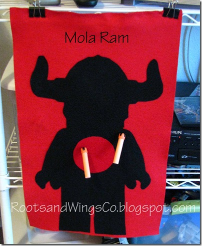 Mola Ram Felt Target