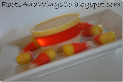 candy corn jello c