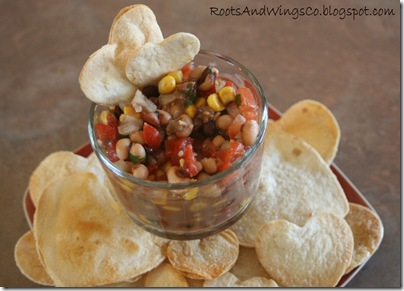 heart chips and salsa d