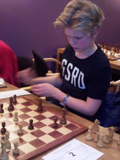 Lars Oskar Hauge på vei mot å ta sølvmedalje i Nordisk mesterskap 2011. Foto: Tarjei J. Svensen