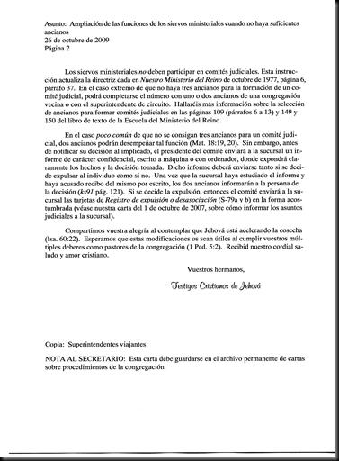PROCEDIMIENTOS-SIERVOS MINISTERIALES--26 OCTUBRE 2009-DICIEMBRE 2009 - Pag 02