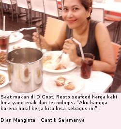 Dian Manginta & D'Cost - Resto Seafood Harga Kaki Lima