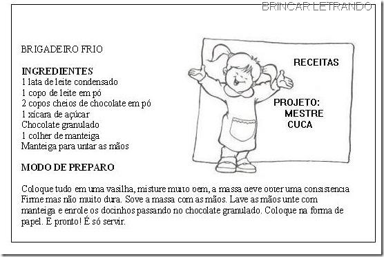 RECEITA DO BRIGADEIRO FRIO