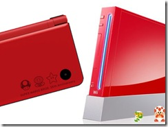 red wii and dsi