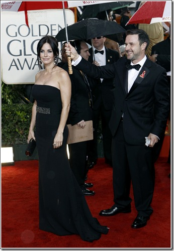 Courtney Cox at the 67th Golden Globes Lela Luxe Best Dressed List