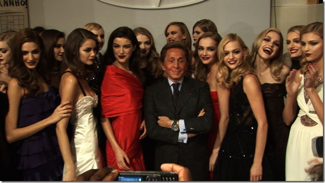 Valentino with Models