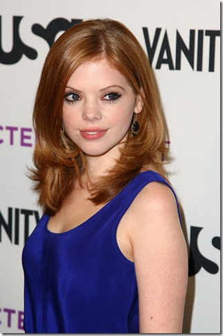 Dreama Walker at  the USA Network Vanity Fair American Character Book by Tom Brokaw Launch