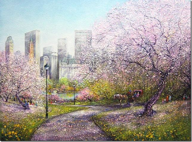 guy dessapt spring in central park